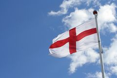Bandeira de St George fotografia de stock