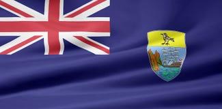 Bandeira de St Helena Fotografia de Stock