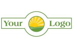 Bandeira de Sun Fotografia de Stock