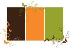 Bandeira de Swirly Imagem de Stock