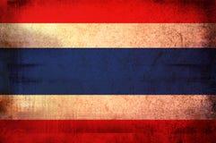 Bandeira de Tailândia Fotos de Stock Royalty Free