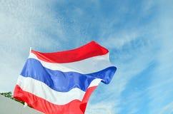 Bandeira de Tailândia Imagens de Stock Royalty Free