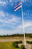 Bandeira de Tailândia Fotos de Stock