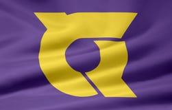 Bandeira de Tokushima - Japão Foto de Stock