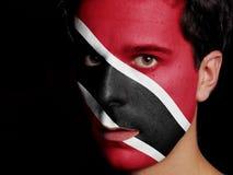 Bandeira de Trindade e Tobago Fotos de Stock
