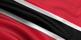 Bandeira de Trinidad And Tobago Imagem de Stock Royalty Free