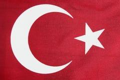 Bandeira de Tukish Fotos de Stock