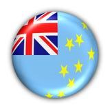Bandeira de Tuvalu Imagem de Stock