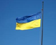 Bandeira de Ucrânia Imagens de Stock Royalty Free
