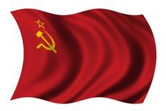 Bandeira de União Soviética Foto de Stock