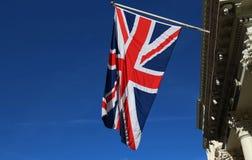 Bandeira de Union Jack do Reino Unido Imagem de Stock Royalty Free
