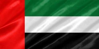 Bandeira de United Arab Emirates imagem de stock