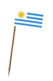 Bandeira de Uruguai Fotografia de Stock Royalty Free