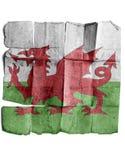 Bandeira de Wales Foto de Stock