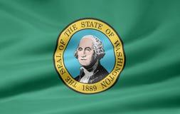 Bandeira de Washington Fotos de Stock