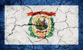 Bandeira de West Virginia fotos de stock