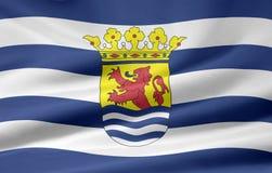 Bandeira de Zealand - Países Baixos ilustração royalty free