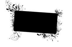 Bandeira decorativa Fotografia de Stock
