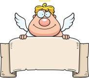 Bandeira do anjo ilustração royalty free