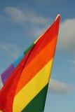 Bandeira do arco-íris Foto de Stock Royalty Free