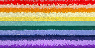 Bandeira do arco-íris ilustração royalty free