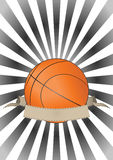 Bandeira do basquetebol Imagem de Stock Royalty Free