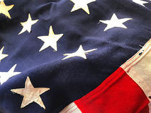 Bandeira do batalhão dos EUA imagens de stock