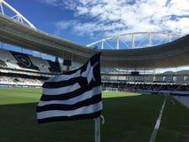 bandeira do clube de Botafogo imagens de stock