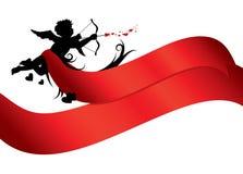 Bandeira do dia dos Valentim Imagens de Stock Royalty Free