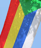 Bandeira do Druze Fotografia de Stock Royalty Free
