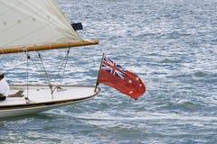 Bandeira do Ensign de Nova Zelândia Imagens de Stock Royalty Free