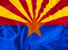 Bandeira do estado do Arizona Imagens de Stock