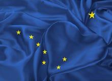 Bandeira do estado de Alaska Imagem de Stock Royalty Free