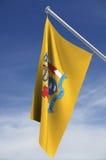 Bandeira do estado de New-jersey ilustração royalty free
