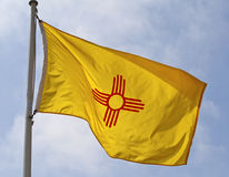 Bandeira do estado de New mexico Imagem de Stock