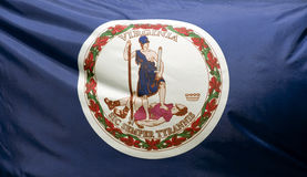 Bandeira do estado de Virgínia Fotos de Stock