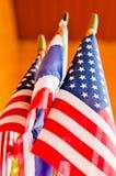Bandeira do Estados Unidos da América, bandeira de América Foto de Stock Royalty Free