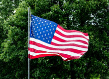 Bandeira do Estados Unidos - EUA Imagens de Stock Royalty Free