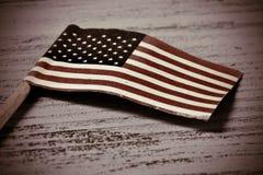 Bandeira do Estados Unidos, vignetted Foto de Stock