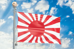 Bandeira do exército de japonês imperial, da guerra rendição 3D Fotografia de Stock