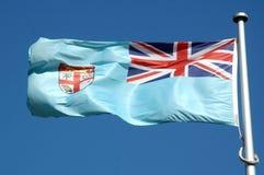 Bandeira do Fijian imagem de stock royalty free