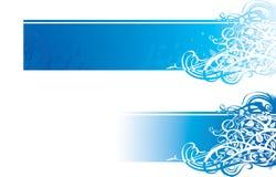 Bandeira do Flourish Fotografia de Stock