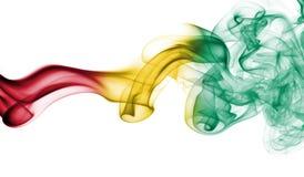 Bandeira do fumo da Guiné Imagem de Stock Royalty Free