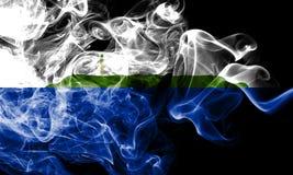 Bandeira do fumo da ilha de Navassa, bandeira dependente do território do Estados Unidos imagens de stock royalty free