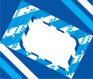 Bandeira do fundo Ilustração do Vetor