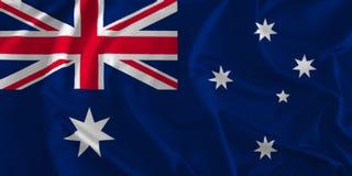 Bandeira do fundo de Austrália ilustração stock