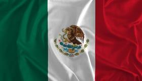 Bandeira do fundo de México ilustração royalty free