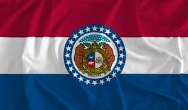 Bandeira do fundo de Missouri, Mostra-mim estado ilustração do vetor