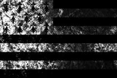 Bandeira do fundo do grunge de Brittany, bandeira dependente do território imagem de stock