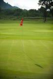 Bandeira do golfe imagens de stock